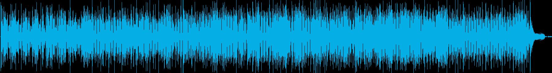 ラテンフラメンコ楽器。活気があり、...の再生済みの波形