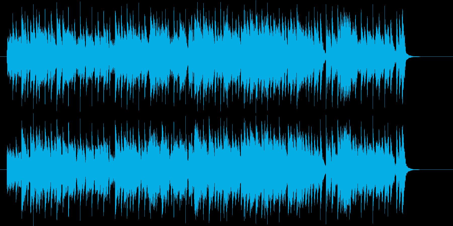 懐かしさを感じるメロディーの再生済みの波形