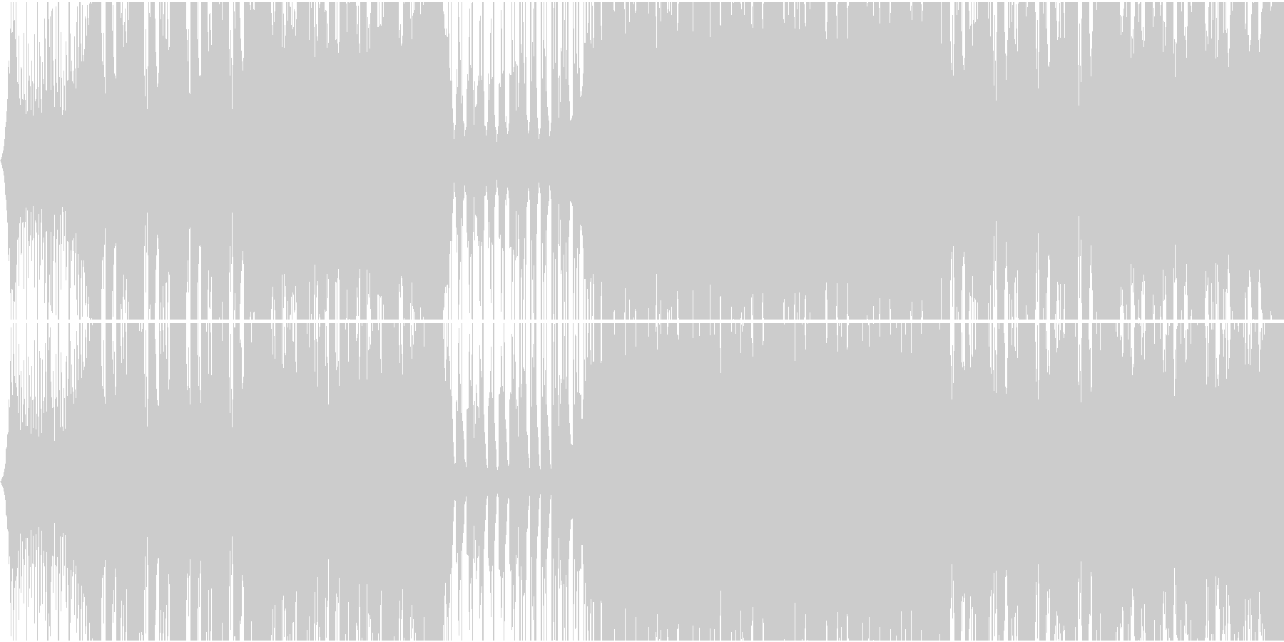 不思議系future bassの未再生の波形