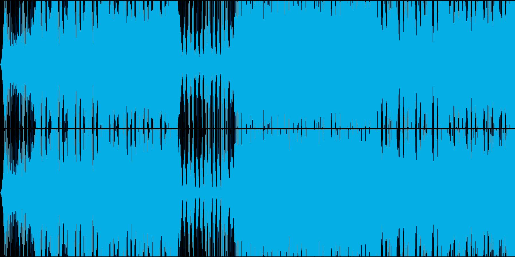 不思議系future bassの再生済みの波形