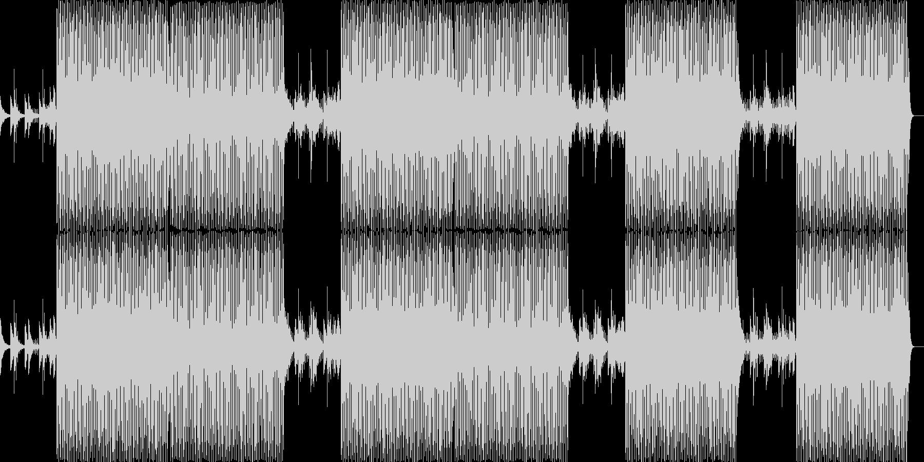テンポ感あるノリの良い和風BGM音楽の未再生の波形