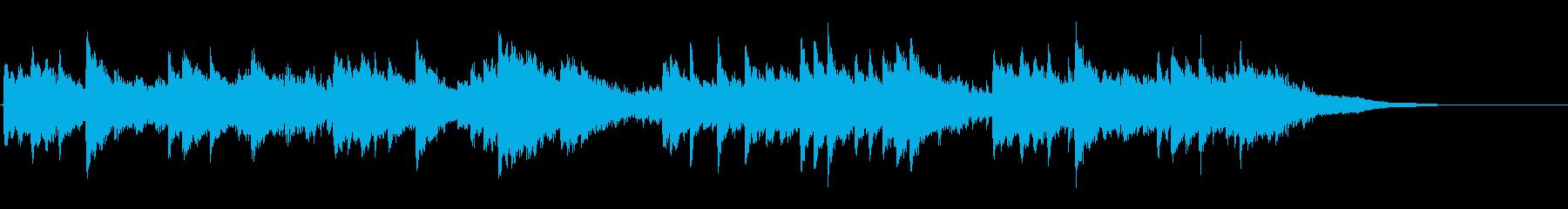 クラーマー=ビューロー練習曲より 41番の再生済みの波形