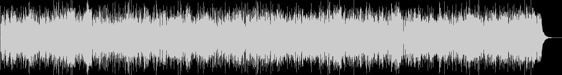 ほのぼのとしたカントリーBGMの未再生の波形