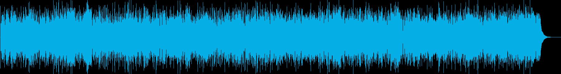 ほのぼのとしたカントリーBGMの再生済みの波形