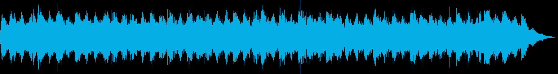優しく広がるサウンドの再生済みの波形