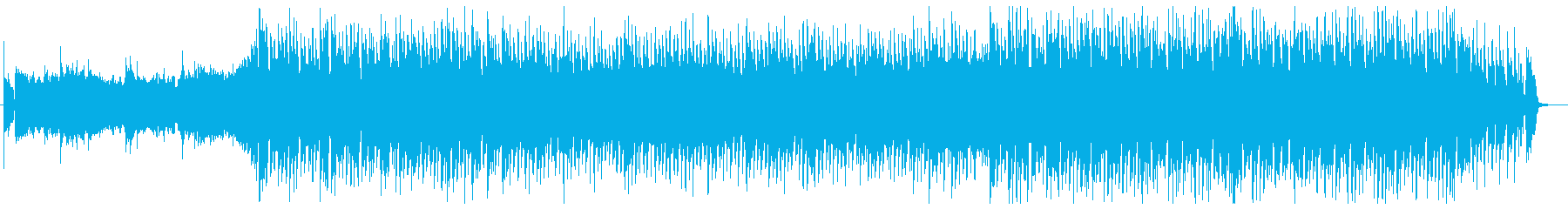 爽やかなテクノポップの再生済みの波形