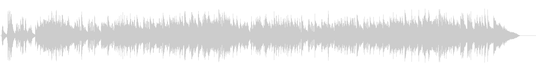 アーバン・ナイト風のジャズ・サウンドの未再生の波形