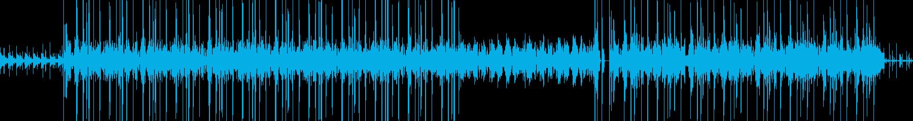 Lo-Fi hiphop風チルアウト、Lの再生済みの波形