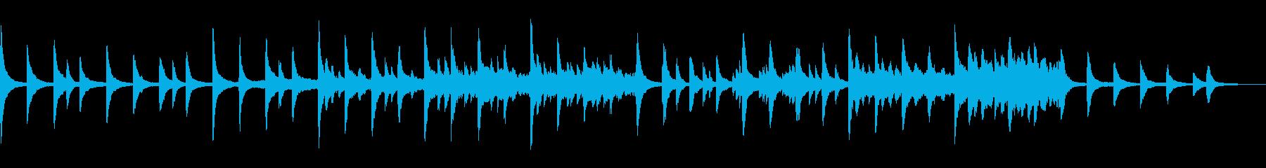 KANTスピーチ用BGM200709の再生済みの波形