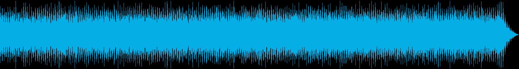 オシャレなイベントBGMの再生済みの波形