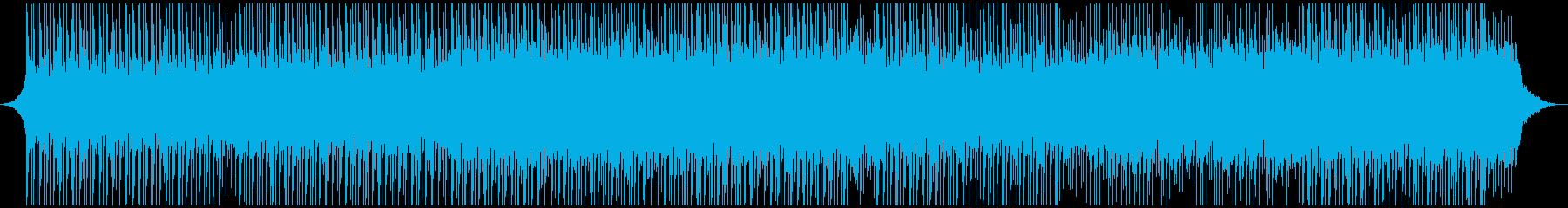感動、高揚、楽観的な企業音楽の再生済みの波形