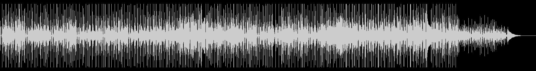 ゆったりとしたポップス風のBGMです。の未再生の波形