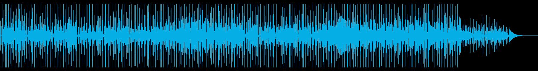 ゆったりとしたポップス風のBGMです。の再生済みの波形