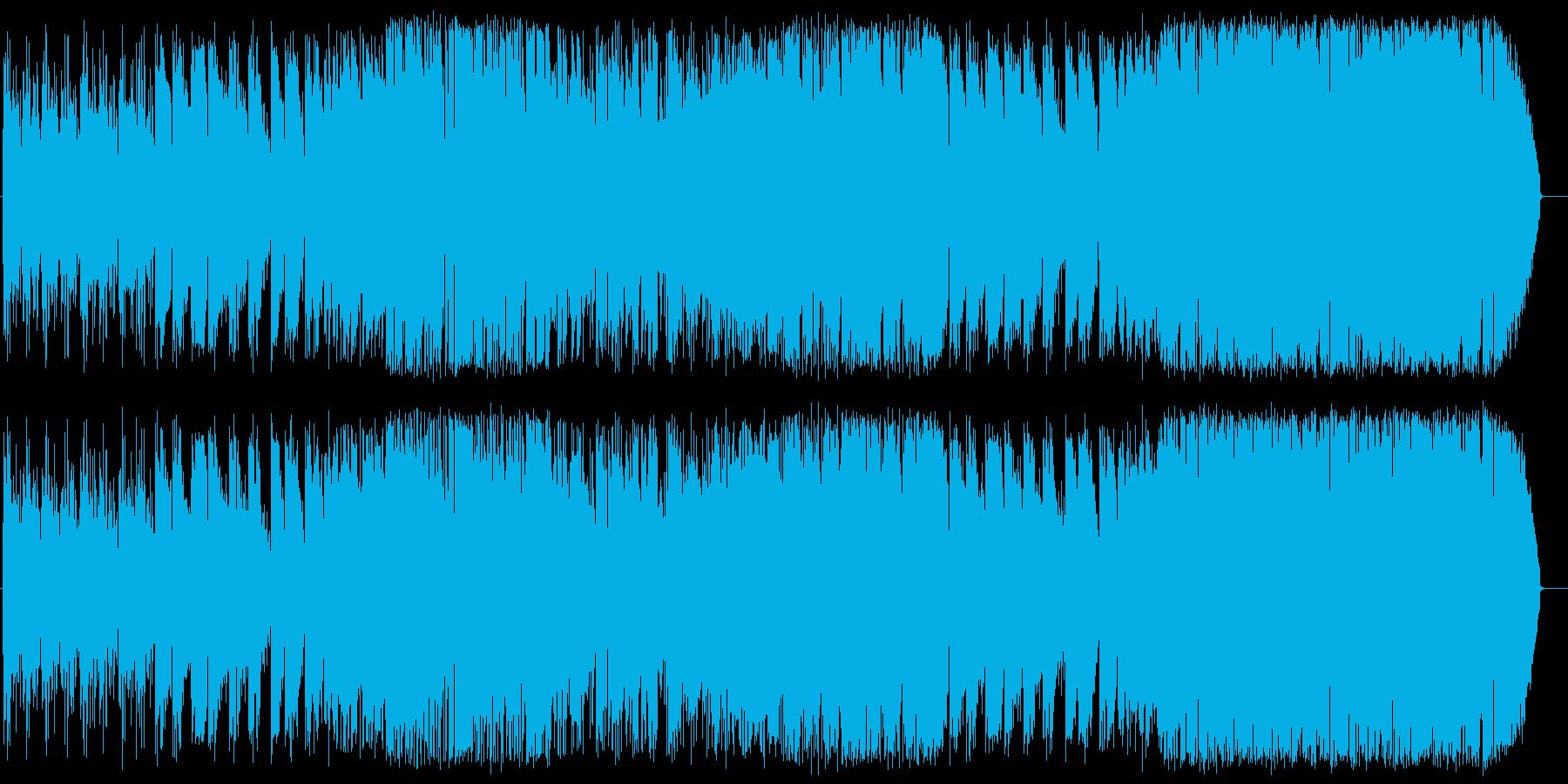 どんよりしたフュージョンの再生済みの波形