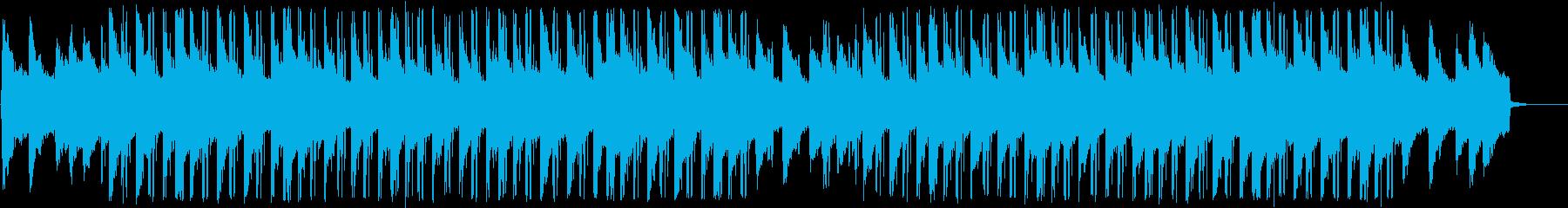 おしゃれで浮遊感のチルアウトの再生済みの波形