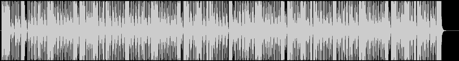 童謡「アルプス一万尺」アメリカ民謡有名曲の未再生の波形