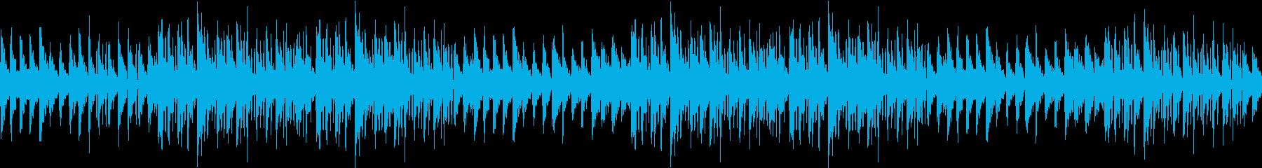幻想的・綺麗・静か・映像・夜・ループの再生済みの波形