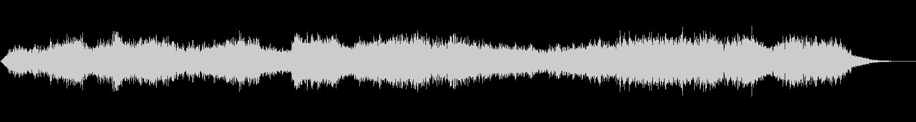 ダークなアンビエント ドローン版の未再生の波形