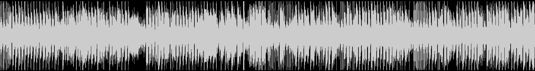 ブリブリした音色の爆速コメディ※ループ版の未再生の波形