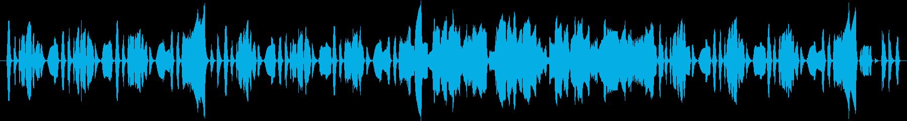 クラとチューバのほのぼのの再生済みの波形
