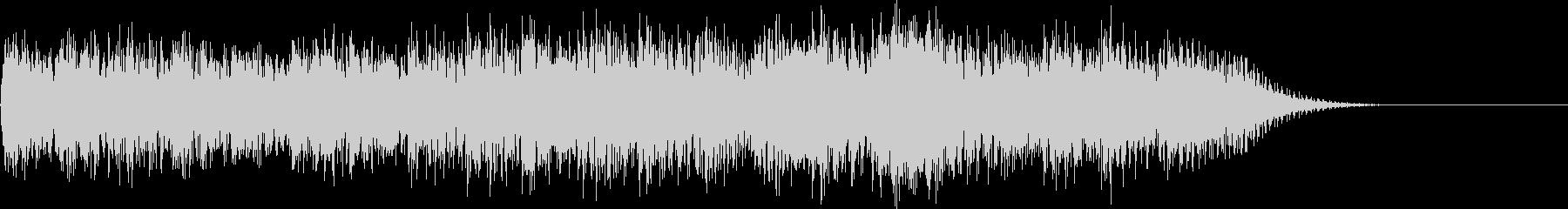 チャラララララチャラ…(ゲームオーバー)の未再生の波形