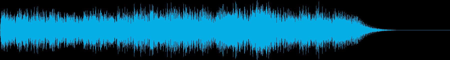 チャラララララチャラ…(ゲームオーバー)の再生済みの波形