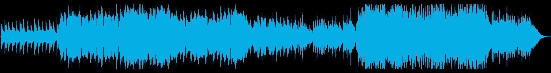 笛メインしっとり雰囲気のケルトなリール曲の再生済みの波形