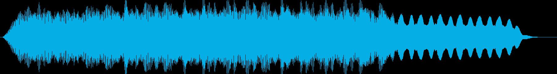 PADS 雄大な日01の再生済みの波形