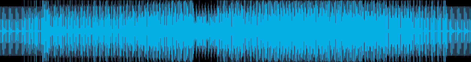 ダンス-ハウスDjツールの再生済みの波形