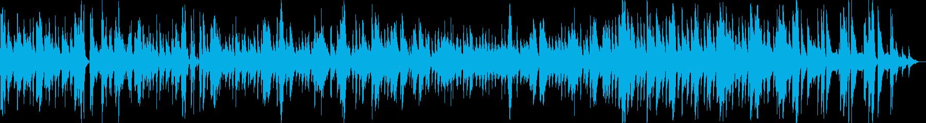 ゆったり優しいアコースティックジャズの再生済みの波形