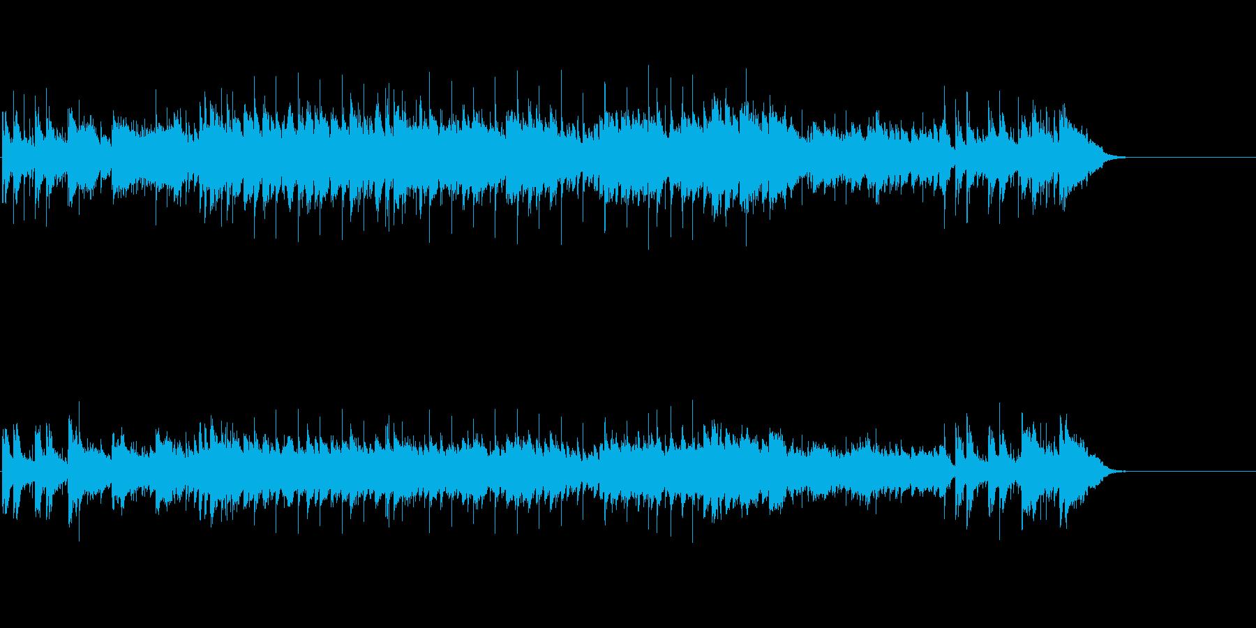 さわやかなポップス(一日の始まり)の再生済みの波形