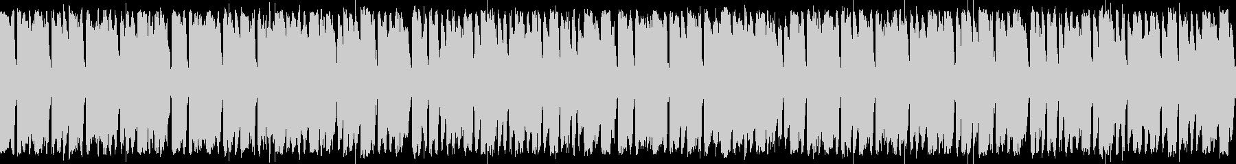 ケルト音楽風ループ BGMの未再生の波形