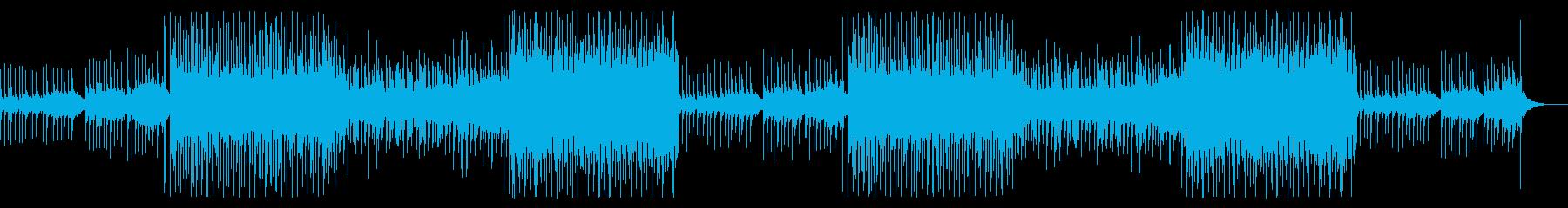シンプルで静かな雰囲気漂う夏のBGMの再生済みの波形