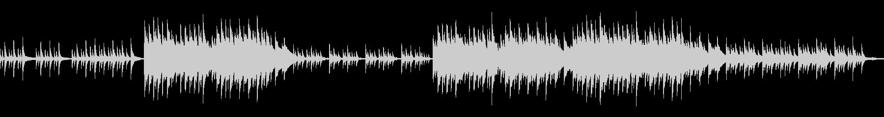 ループ ノスタルジックで切ないピアノソロの未再生の波形