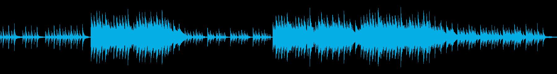 ループ ノスタルジックで切ないピアノソロの再生済みの波形