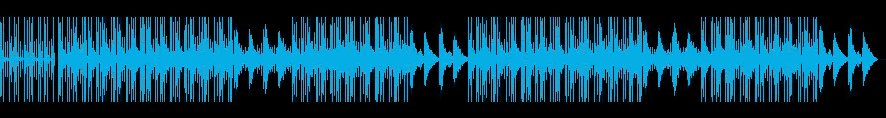 Lofi Hiphop ビーチでチルの再生済みの波形