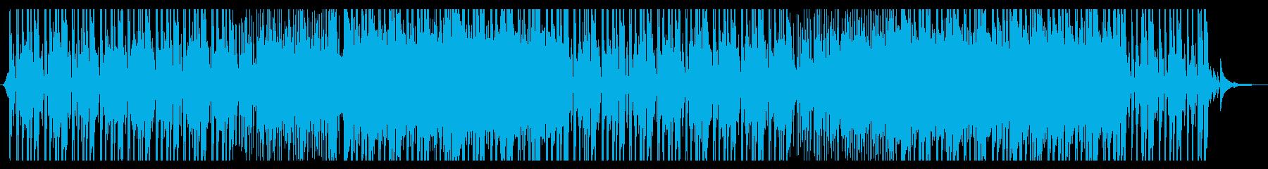 まったりしたEDMの再生済みの波形