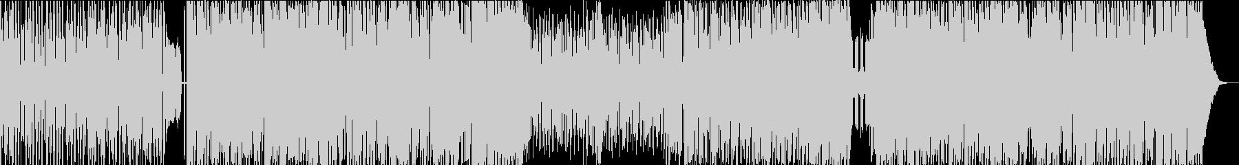 民族音楽風のトランスBGMの未再生の波形