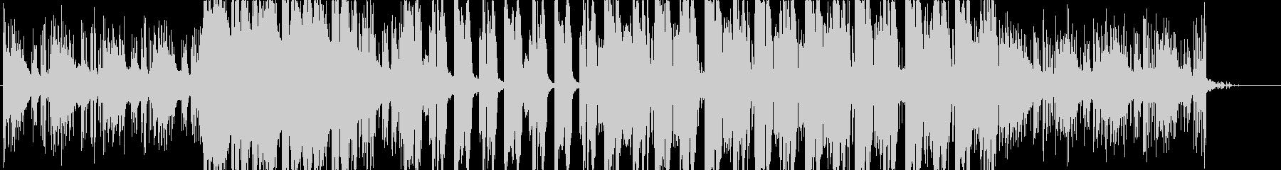イントロが印象的なおしゃれなエレクトロの未再生の波形