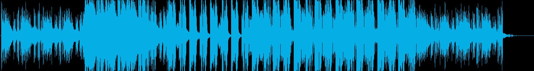 イントロが印象的なおしゃれなエレクトロの再生済みの波形
