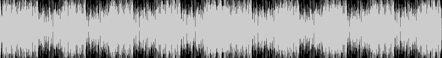 高音質ロックテイストホーンセクションの未再生の波形