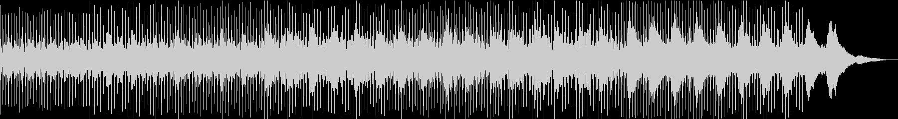 爽やかで透き通るアコギ曲の未再生の波形