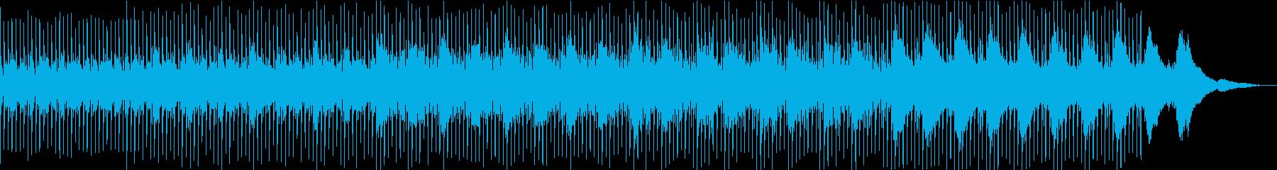 爽やかで透き通るアコギ曲の再生済みの波形