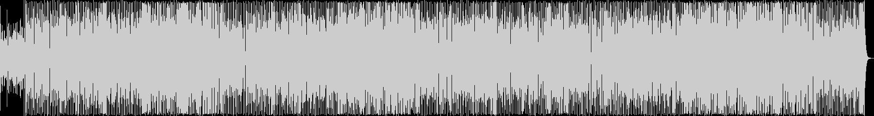 エレピの音色が印象的なブルースロックの未再生の波形
