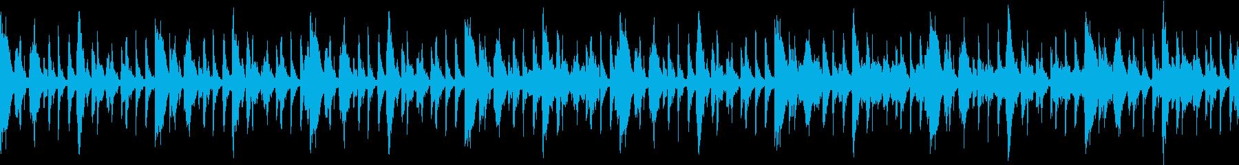 SAXの入ったラテンポップの再生済みの波形