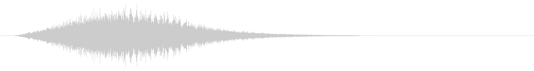 Sounds of chanting and activating magic #12's unreproduced waveform