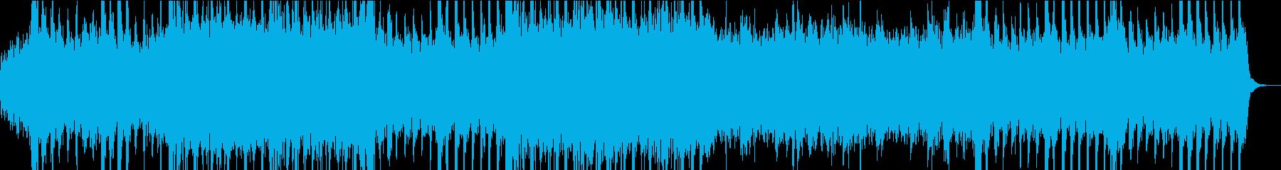 ドラマチック オーケストラ01 劇伴等の再生済みの波形