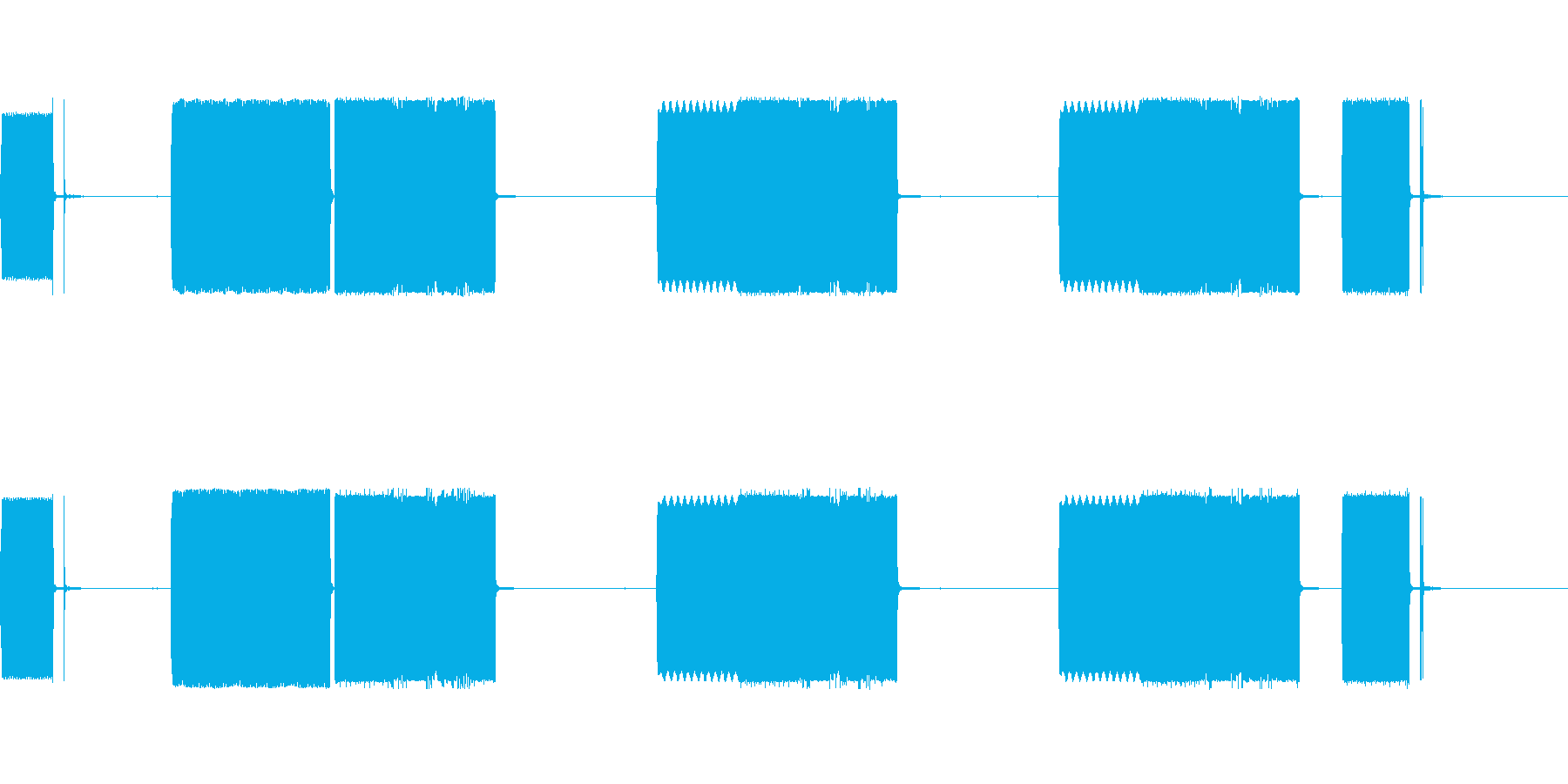 FAXマシントーン、オフィス; D...の再生済みの波形