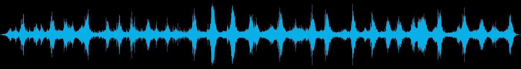 海:地中海:ゆっくりと波がやって来...の再生済みの波形