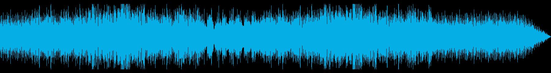 爽やかな印象のインストポップスの再生済みの波形